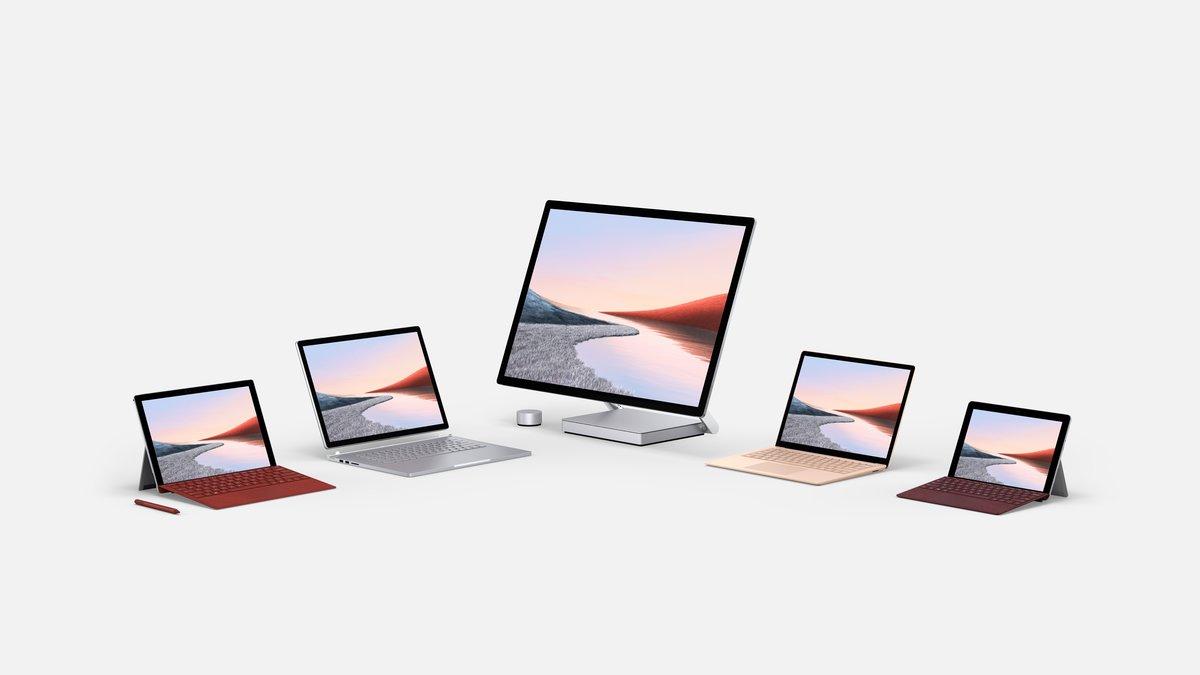 Nueva familia Surface de Microsoft.