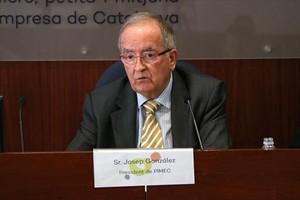 Optimismo 8Josep González, en la rueda de prensa de ayer.