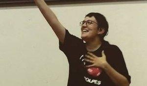 Pamela Palenciano denuncia amenazas por su trabajo contra la violencia machista