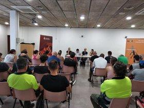 Presentación de los Planes de Empleo en Parets del Vallès.