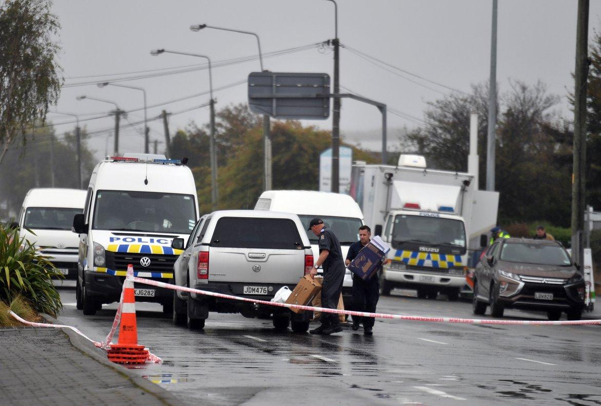 La Polícia de Australia investiga el ataque a lasmezquitas en Nueva Zelanda. EFE