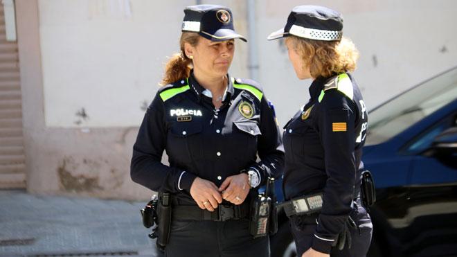 La policía local de Manresa busca mujeres. El 92% de la plantilla son hombres.