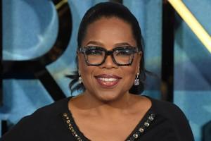 La polifacética estrella de la pequeña y gran pantalla de EEUU, Oprah Winfrey.