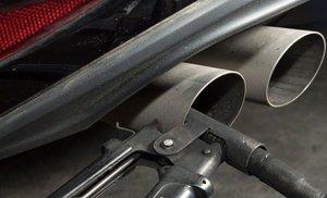 Puebas de contaminación en un Volkswagen Golf 2.0.