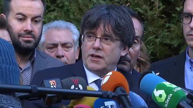 Puigdemont inclina el PDECat a rebutjar la tramitació dels comptes de Sánchez