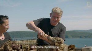 El xef Gordon Ramsay enfurisma els animalistes per caçar i menjar-se una cabra salvatge