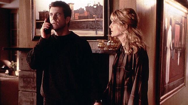 Mel Gibson y Rene Russo, en una escena de la pelicula 'Rescate'.