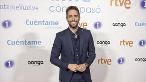 Roberto Leal, presentador del concurso de TVE-1'OT'.