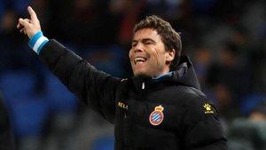 Rubi, el técnico del Espanyol.