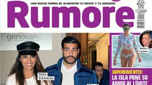 Detalle de la portada de la revista Rumore