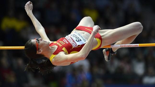 Ruth Beitia será la capitana femenina.