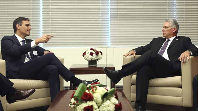 Sánchez y Díaz-Canel planean la primera visita oficial a Cuba