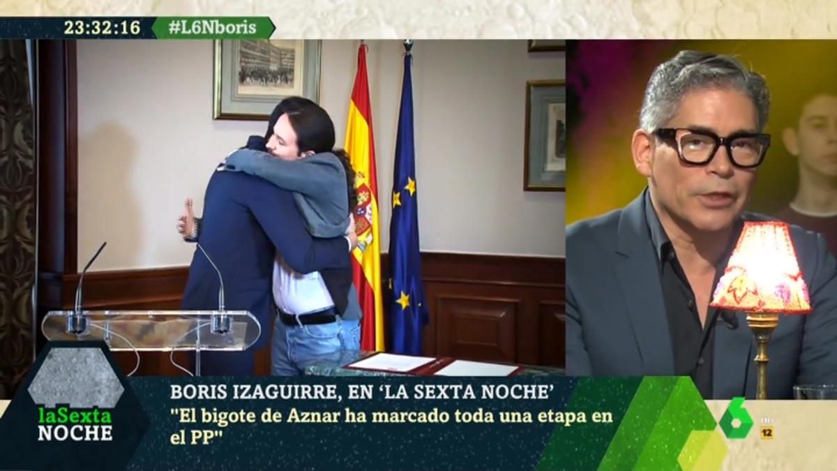 Boris analizó el abrazo Sánchez-Iglesias.