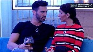 """Suso rompe con Aurah en 'GH VIP': """"Vete a que te penetren con la mirada"""""""