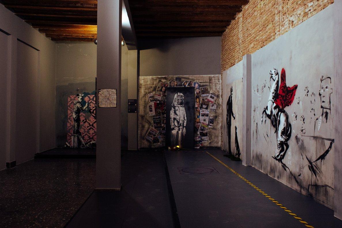 Les rates de Banksy impulsen l'ús de la mascareta