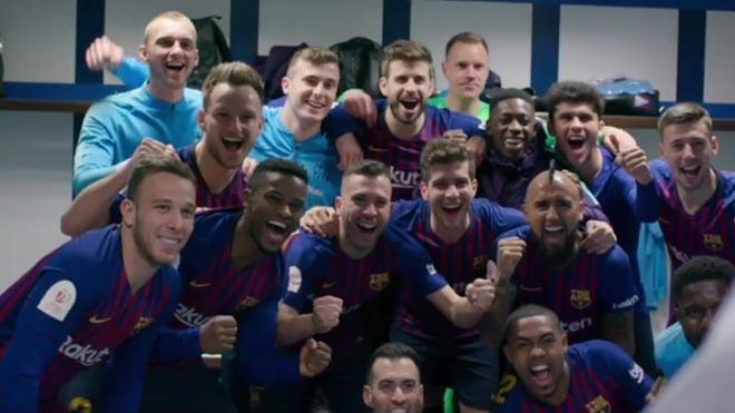 Tráiler de 'Matchday', la serie documental que muestra al Barça por dentro.
