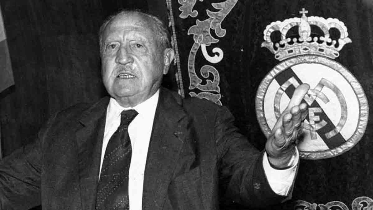 Esta película dirigida por Ignacio Salazar-Simpson repasa los 82 años de la vida del mítico presidente del Real Madrid.
