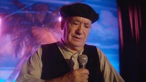 Miguel Ángel Tirado, más conocido como Marianico El Corto, en 'El último show'.