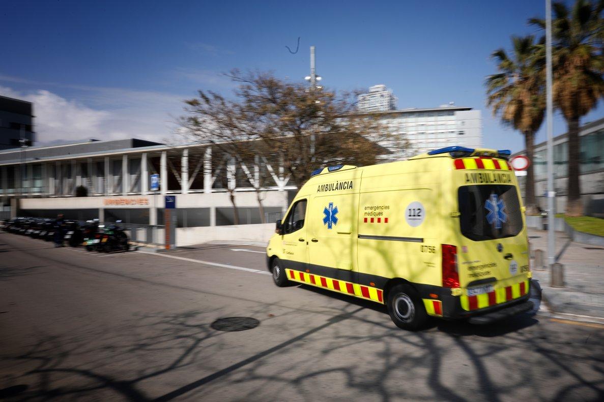 Una ambulancia del Sistema d'Emergències Mèdiques.