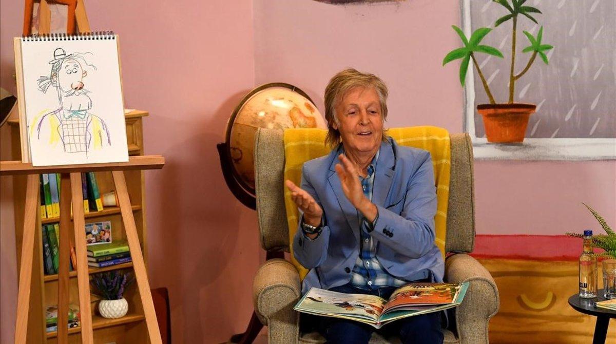 McCartney mostra la seva faceta d'avi al llibre 'Hey Grandude!'