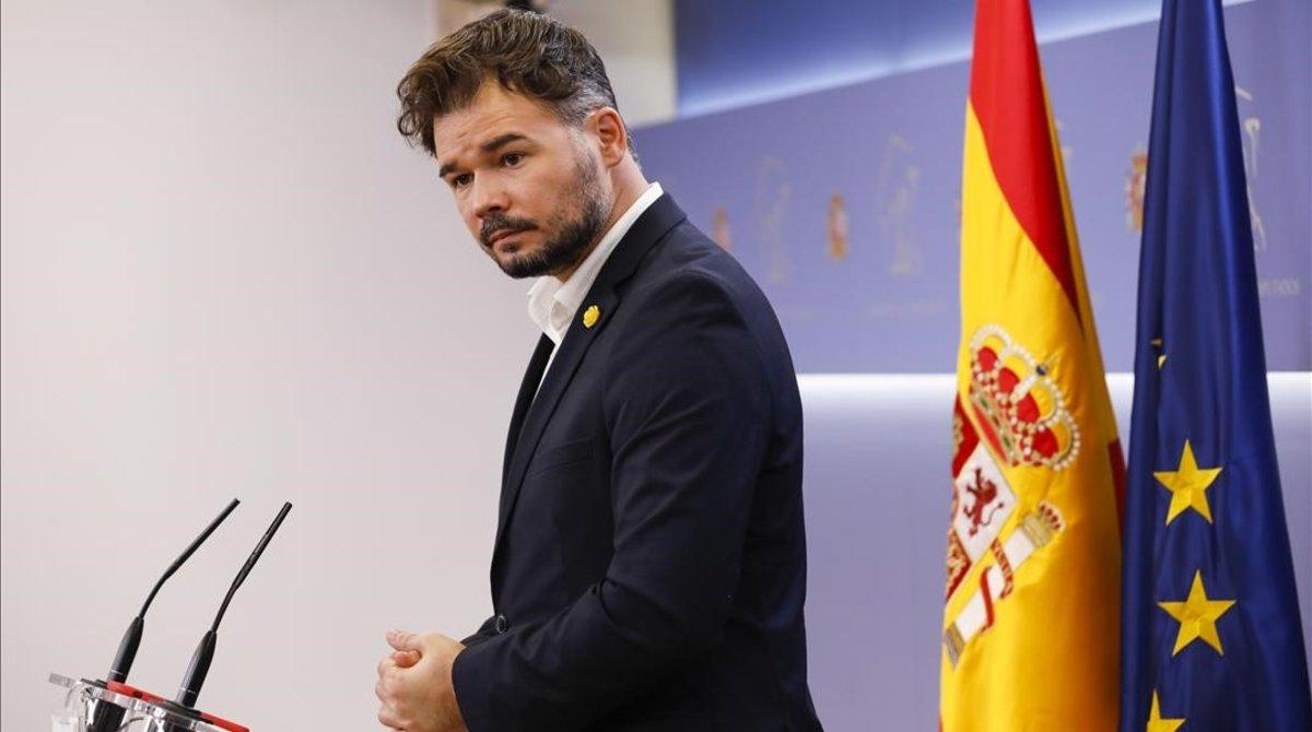 ERC y el PNV despejan los Presupuestos de Sánchez