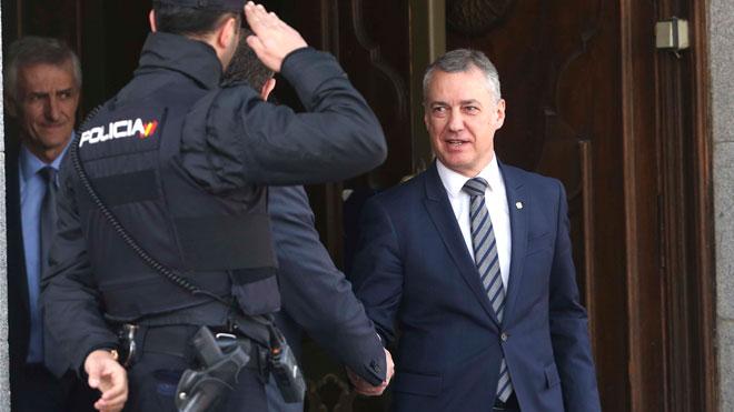 Urkullu trasladó a Puigdemont su intuición de que Rajoy no quería el 155.