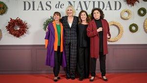 Victoria Abril, Susi Sánchez, Verónica Forqué y Charo López.