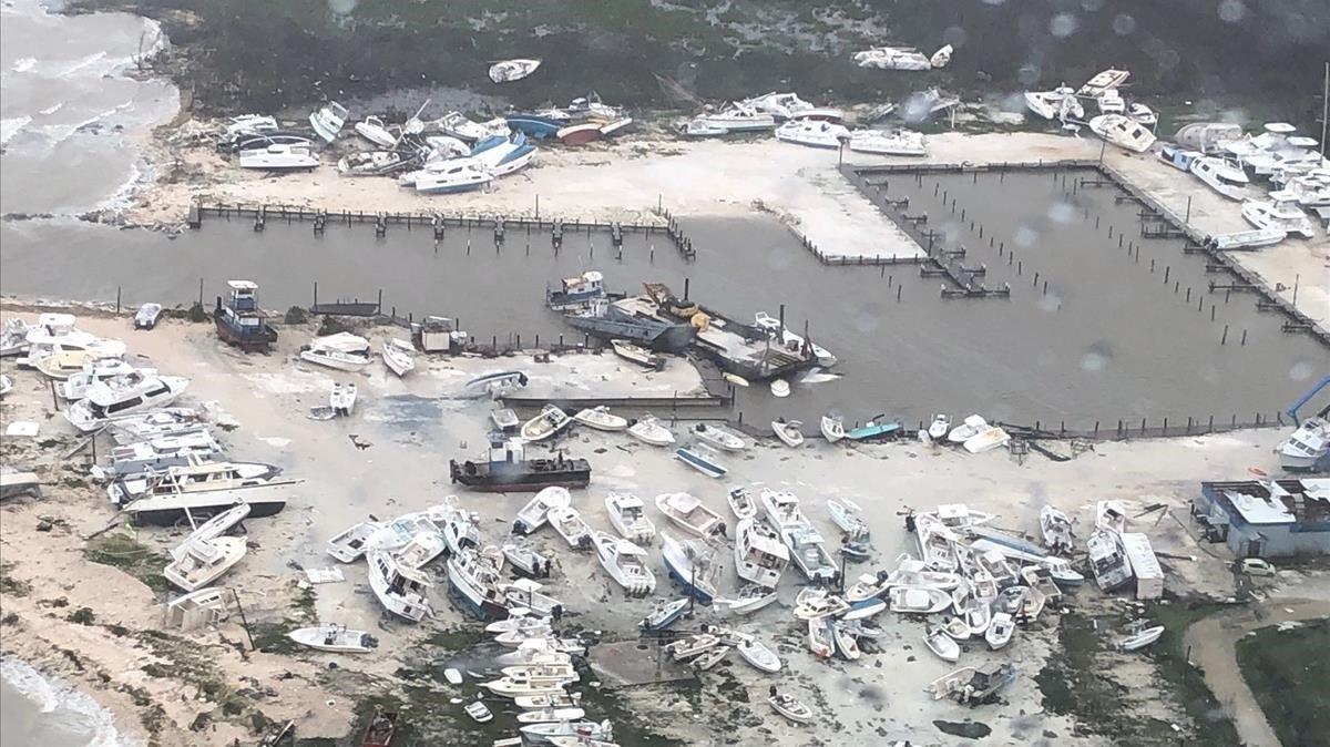 Dorian dejó destrucción y muerte en las Bahamas - Actualidad