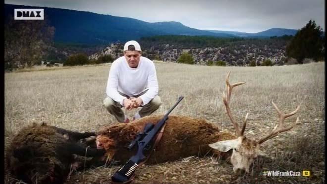 Wild Frank abordó la caza (DMax).