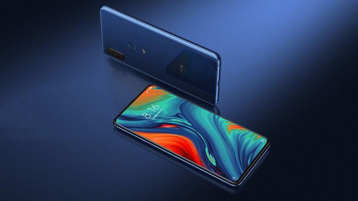 El Xiaomi Mi Mix 3 5G.