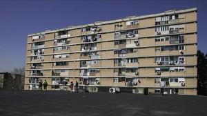 Bloque del Besòs, unode los enclaves más vulnerables de la ciudad.
