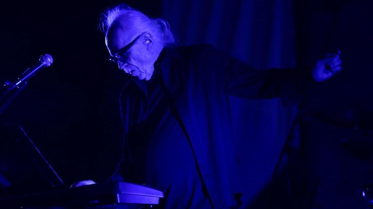 John Carpenter, durante su actuación en Sitges.