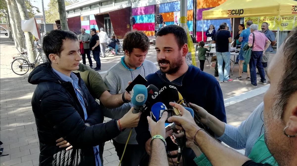 "La CUP decide dejar solo a Torra en el Parlament por ""autonomista"""