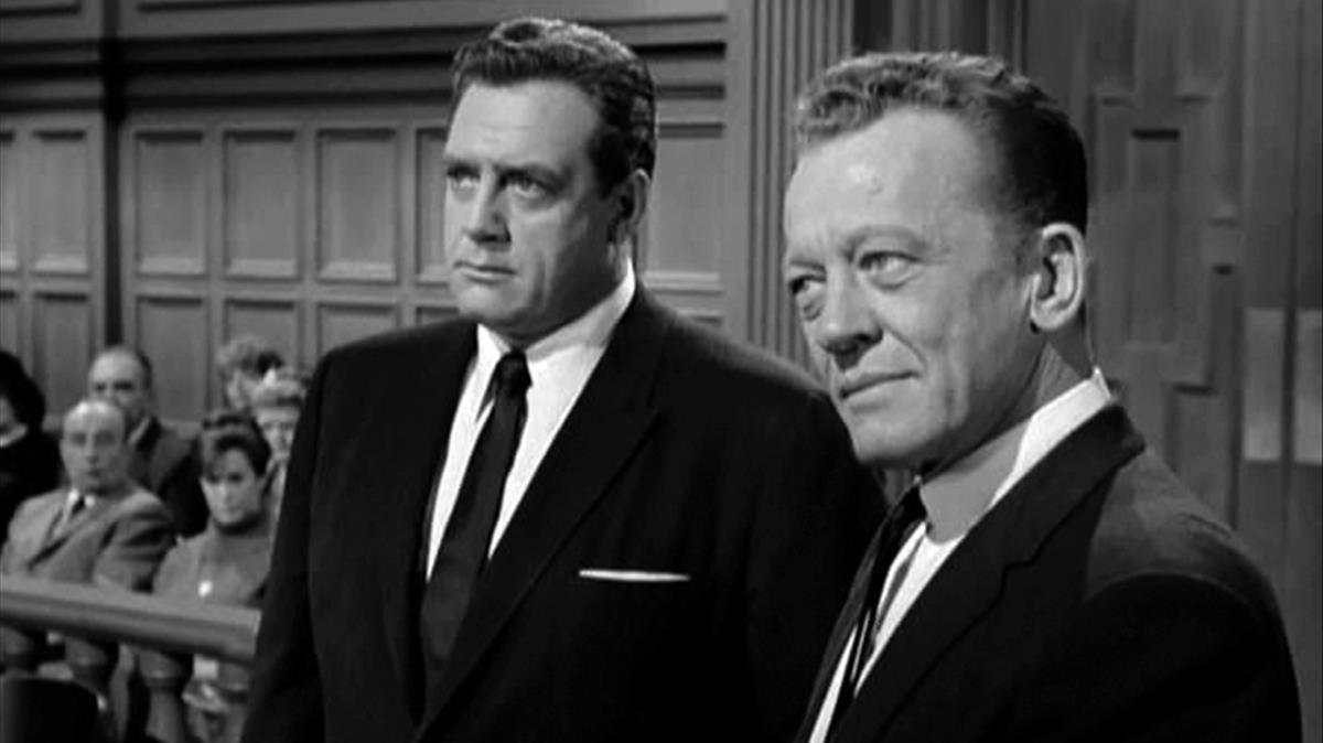 Perry Mason y el inasequible al desaliento Ham Burguer.