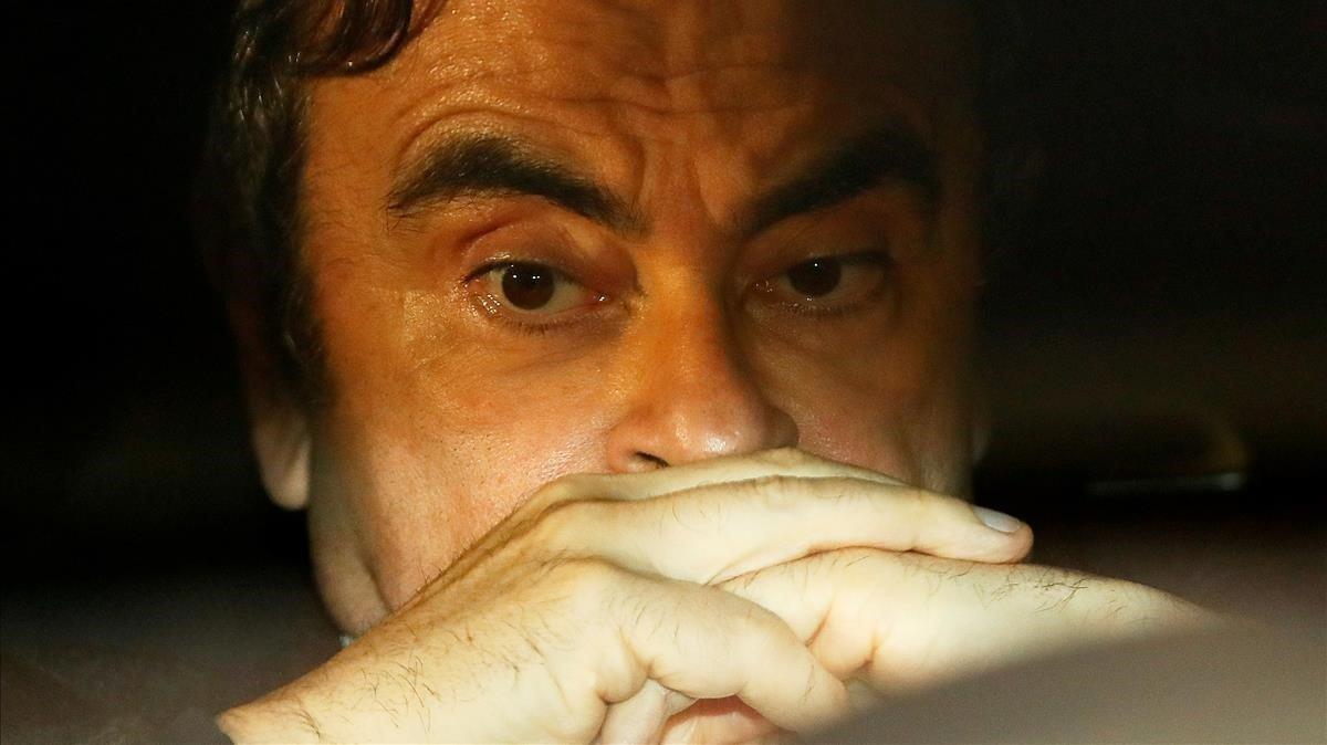 Carlos Ghosn, expresidente de Nissan y Renault.