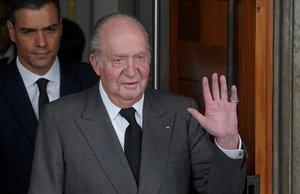 El rei Joan Carles I s'acomiadarà amb un homenatge del món taurí a la seva mare