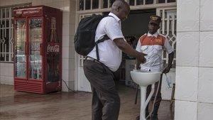 Rwanda pren mesures per evitar un futur brot d'Ebola a la ciutat de Gisenyi