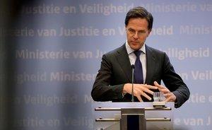 Rutte no demana perdó: els vius «no són responsables» del passat d'Holanda amb els esclaus