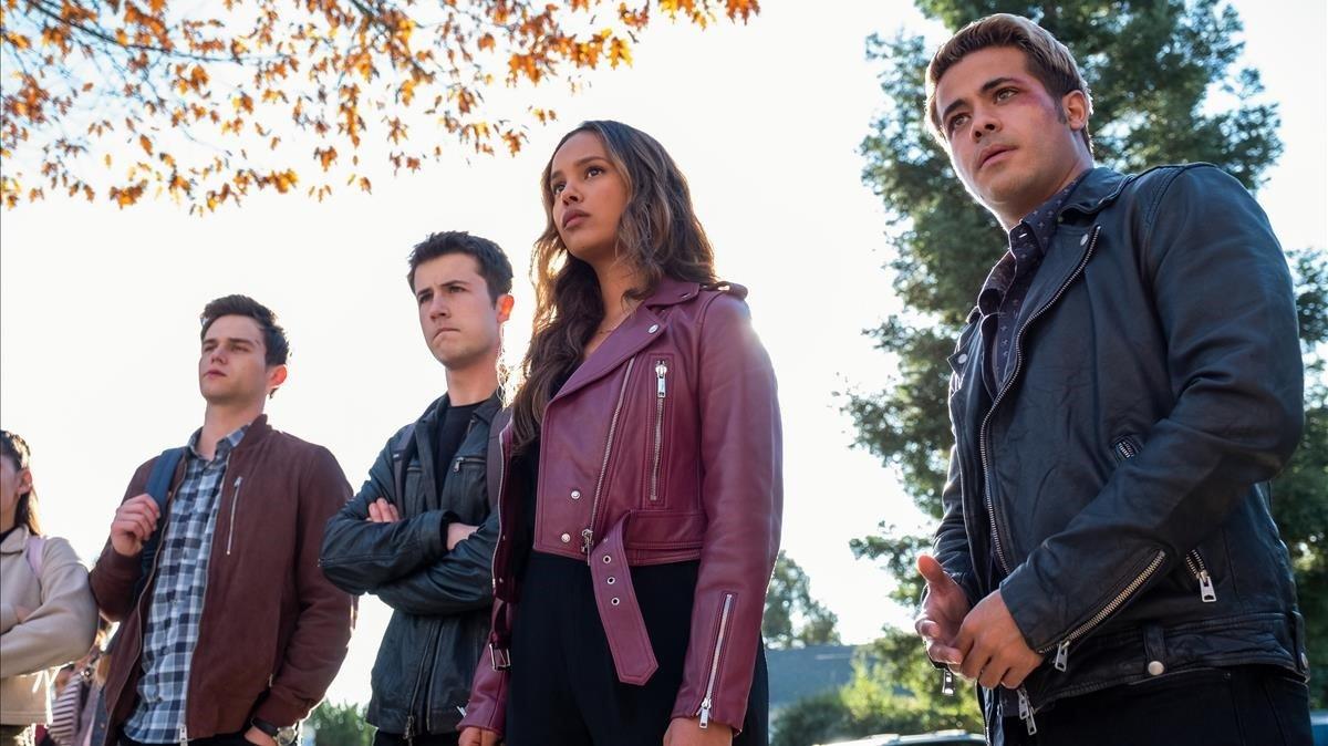 Imagen de la temporada final de 'Por trece razones'.