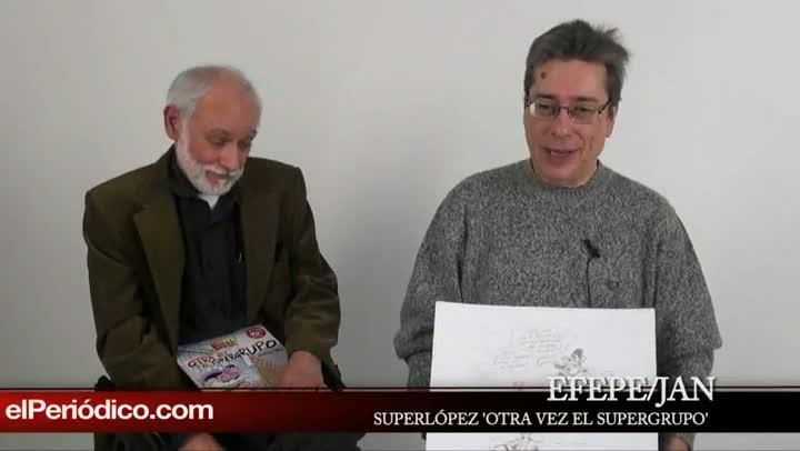 EFEPE/JAN Vuelve SUPERLÓPEZ en el supergrupo, a peticion de la editorial