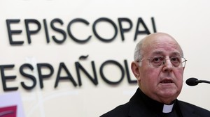 El nou president de la Conferència Episcopal Espanyola, Ricardo Blázquez, aquest dimecres, 12 de març.