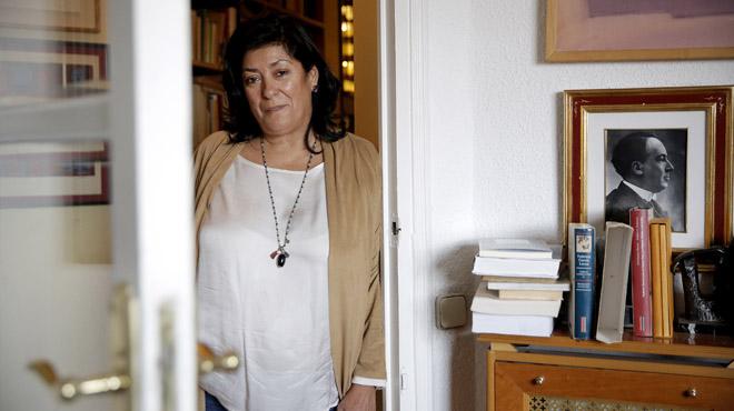 Almudena Grandes presenta la seva última novel·la, Los besos en el pan
