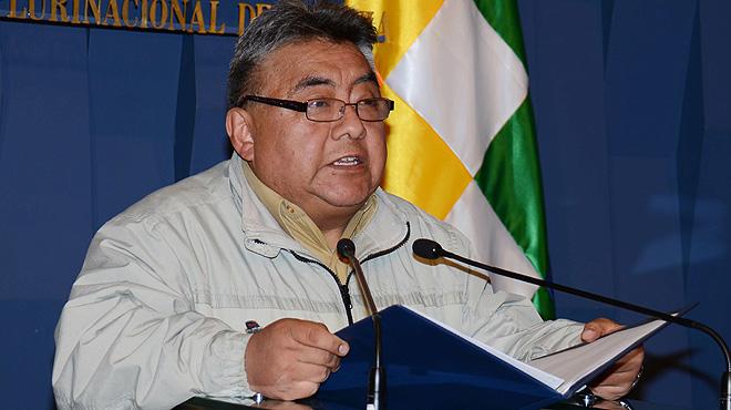 Assassinat un viceministre del Govern de Bolívia durant una protesta minera