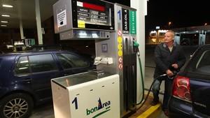 Gasolinera en Mataró