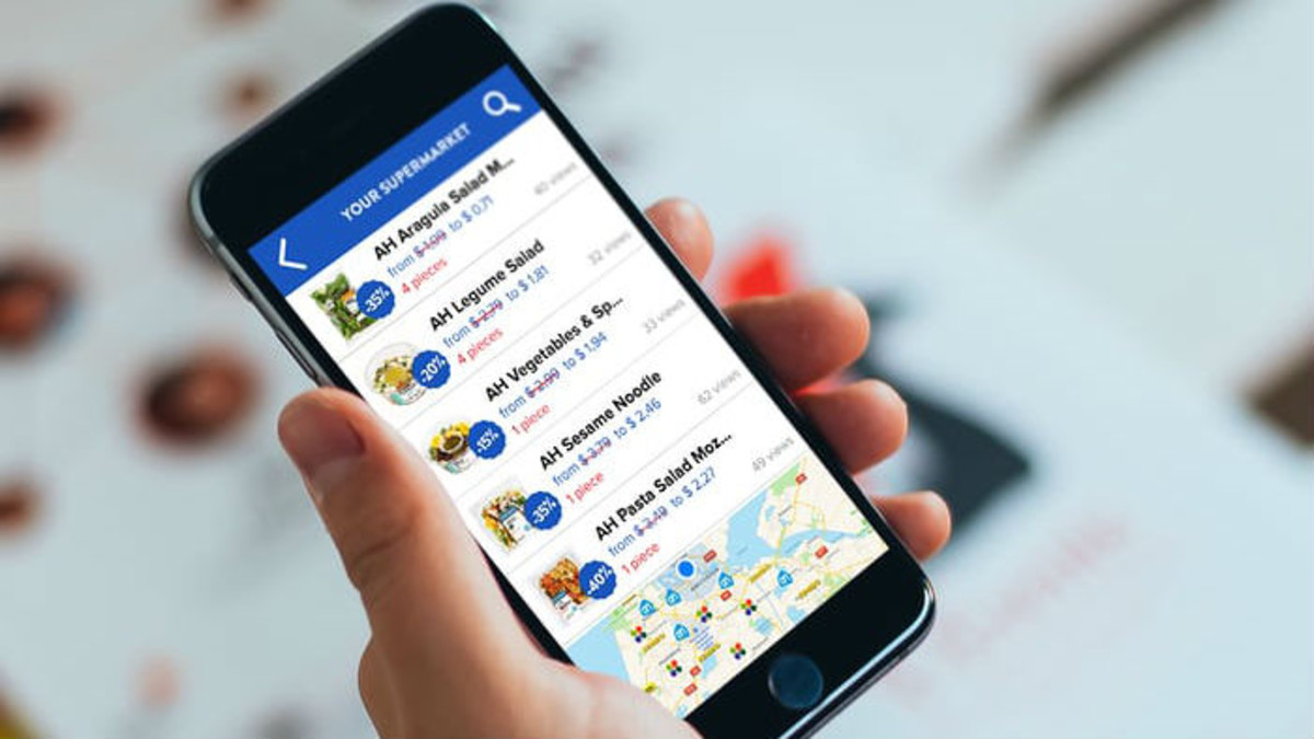 Una aplicación móvil contra el desperdicio alimentario