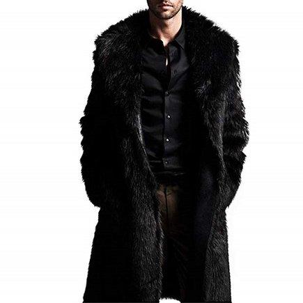 Abrigo largo para hombre