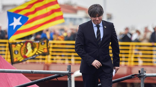 La bofetada de Puigdemont