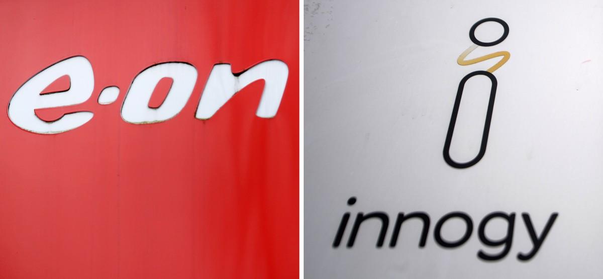 Los logos de E.On e Innogy.