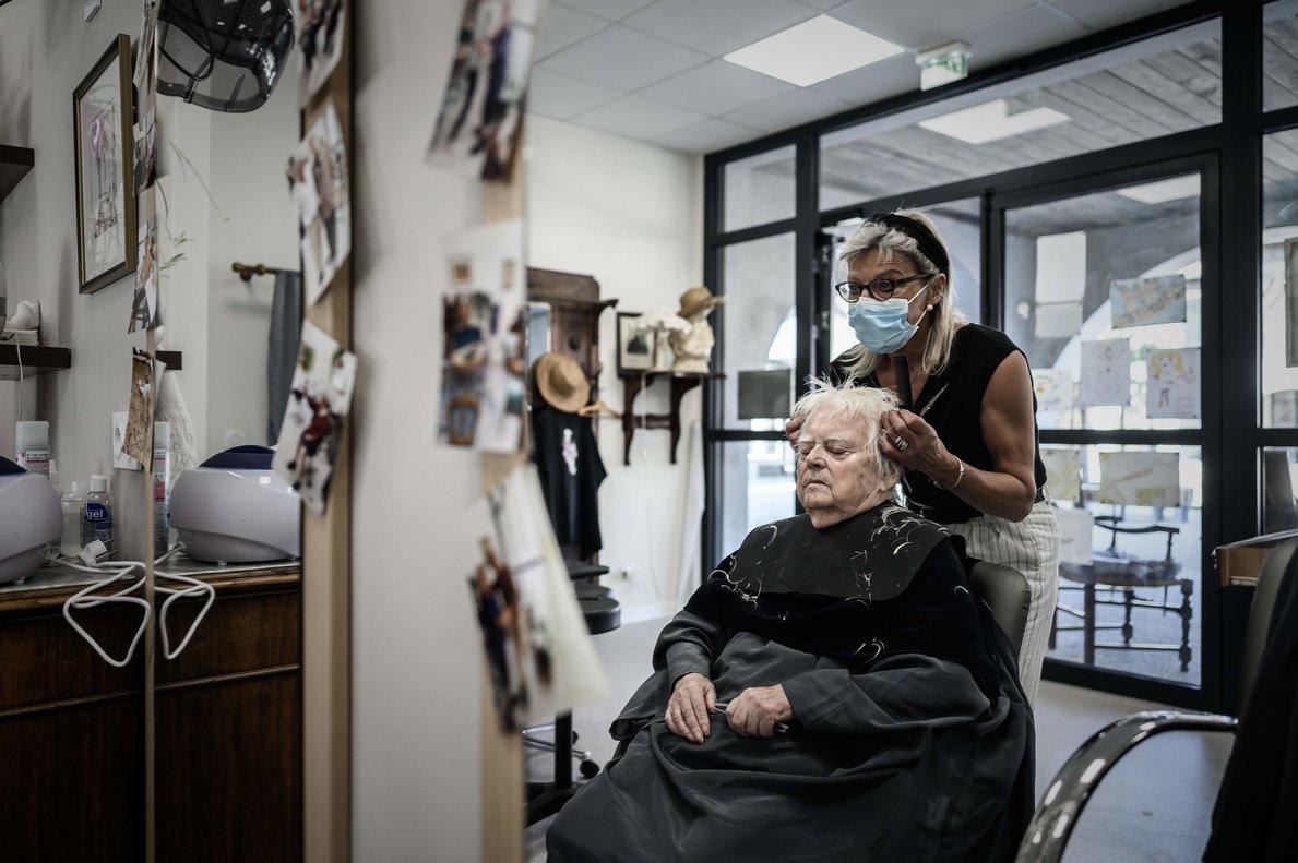 Un poble francès fa sentir com casa malalts d'Alzheimer
