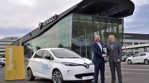 Acuerdo de carsharing entre Renault y Ferrovial en Madrid.